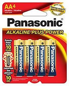 Batteries Aa4 4-Pack Alkaline