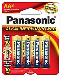 Batteries Aa8 8-Pack Alkaline