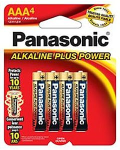 Batteries Aaa4 4-Pack Alkaline