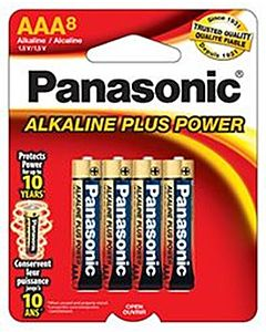 Batteries Aaa8 8-Pack Alkaline