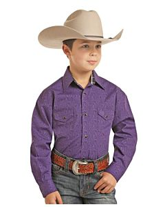 Boys Long Sleeve Two Pocket Shirt