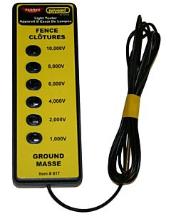 6 Light Electric Fence Tester