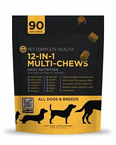12-In-1 Multi-Chews - 12.6 Oz, Chicken & Bacon