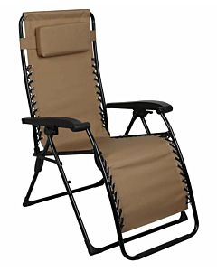 Essential Zero Gravity Lounger - Brown