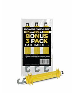 Bonus 3 Pack Gate Handles - Yellow