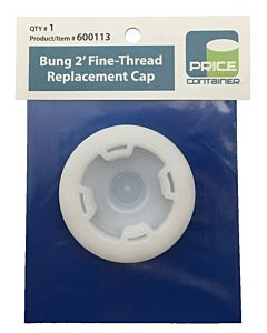 "2"" Fine Thread Replacement Cap Bung"