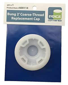 "2"" Course Thread Replacement Bung Cap"