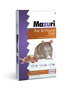 Rat & Mouse Diet - All Life Stages, 25 lb