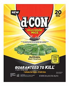 Dcon Refillable Mice Bait Station - 75 oz
