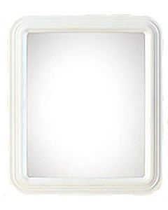 Rectangle-Molded Framed Mirror - 12 in X 14 in