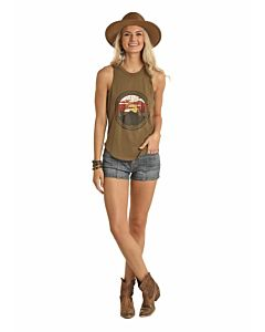 Women's Mountain Desert Graphic Tank
