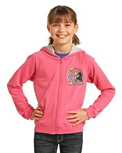 Girls Rock & Roll Cowgirl Hoodie