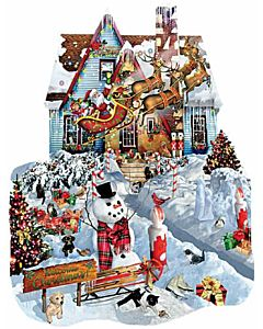 Kids Christmas At Our House 300+ Piece Puzzle - 8 Yrs. Old+