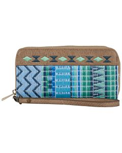 Women's Catchfly Kendall Wallet - Blue/Green