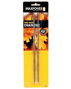 Saw Chain Files 2 Pack - 5/32 in