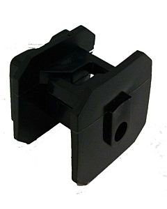 Black Economy Wood Post Square Insulator