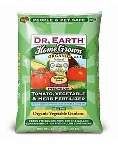 Tomato Vegetable And Herb Organic Fertilizer 4-6-3 - 25 Lbs