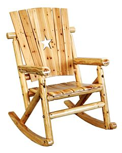 Single Aspen Rocker W/Star