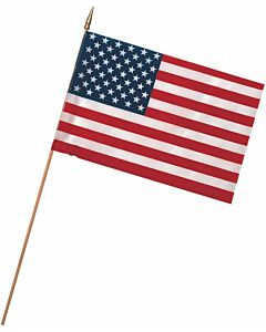 4 in X 6 in Polycotton United States Flag