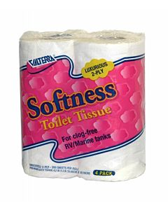 Softness Toilet Tissue - White