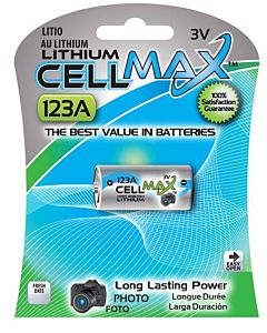 3 Volt Lithium 1 Piece Battery