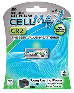 Cr2 3 Volt Lithium 1 Piece Battery