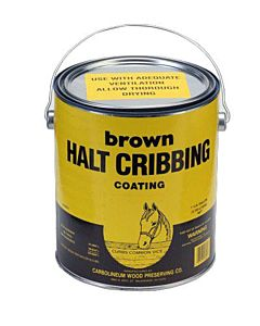 Halt Cribbing - Brown, 1 gal