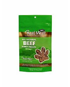 Real Meat Beef Jerky Treat - Beef, 4 oz