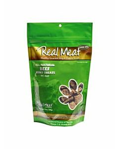 Real Meat Beef Jerky Treat - Beef, 12 oz