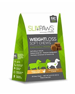 Slimpaws Weight Loss Soft Chews - 30 Count, Small