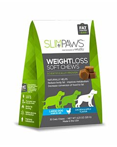 Slimpaws Weight Loss Soft Chews - 30 Count, Large