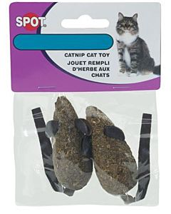 2 Pack Candy Mice Cat Toy