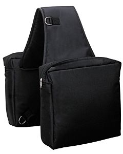 Heavy Duty Saddle Bag - Black