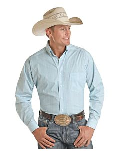 Men's Long Sleeve One Pocket Shirt