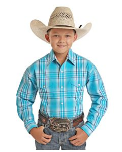 Boys Two Pocket Long Sleeve Shirt