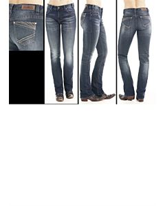 Women's Dark Vintage Wash Jeans