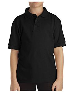 Boys Kids Short Sleeve Pique Polo Shirt