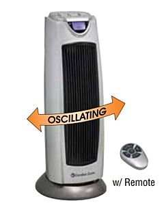 Howard Berger-Oscillating Ceramic Tower Heater