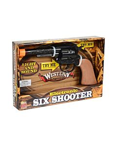 World Mark Kidz Toyz Import Western Legends Six Shooter