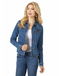 Women's Dark Denim Jacket