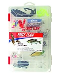83 Piece Eagle Claw Tk-Fresh Freshwater Tackle Kit