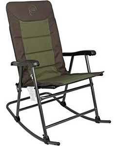 Padded Rocking Chair - Green/Gray