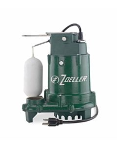 1/3 hp Pro Cast Iron Sump Pump