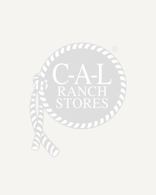 Men's Economy Dotted Canvas (6-Pack) Gloves - White, L