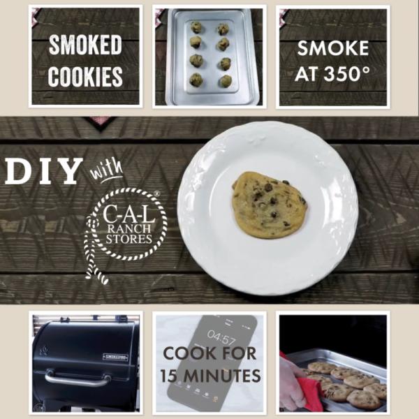 Baking Cookies on the Smoker
