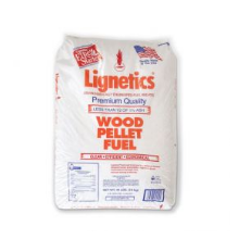 Lignetics Wood Fuel Pellets - 40LBS