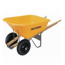Dual Wheel Wheelbarrow