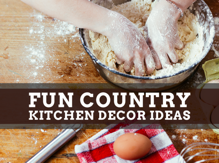 Fun Country Kitchen Decor Ideas
