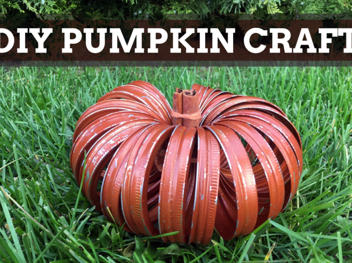 How To Make A Canning Lid Pumpkin